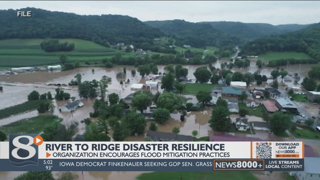 A Local Disaster Recovery Group Is Warning The Community To Prepare For Floods