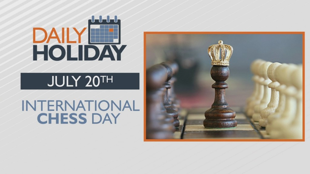 Daily Holiday International Chess Day