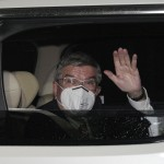 Ioc's Bach Arrives In Tokyo; Greeted By State Of Emergency
