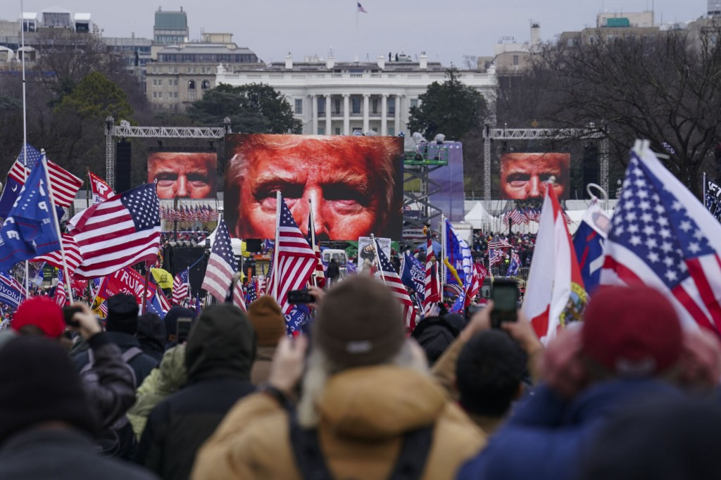 In Trump's Jan. 6 Recast, Attackers Become Martyrs, Heroes