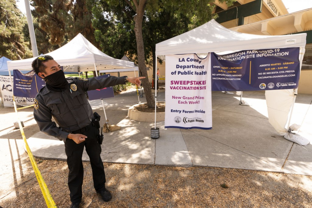 With Virus Surging, La County Implores People To Get Shots