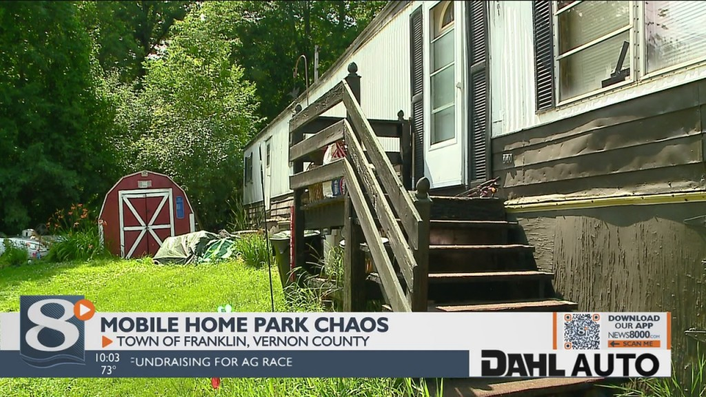More Than Two Dozen Vernon County Families Forced To Move Out Of Mobile Homes