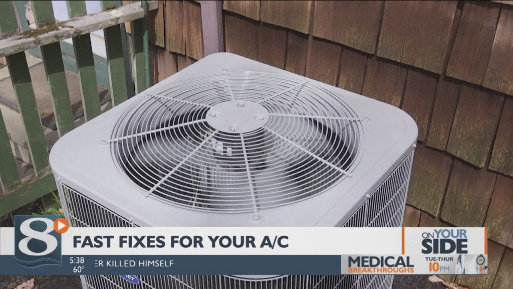 On Your Side Fast Fixes For Your A/c