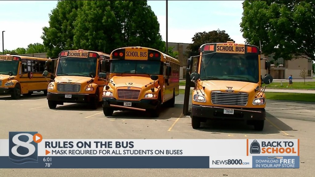 School Bus Leaders Say Mask Up And Expect Delays As School Year Begins