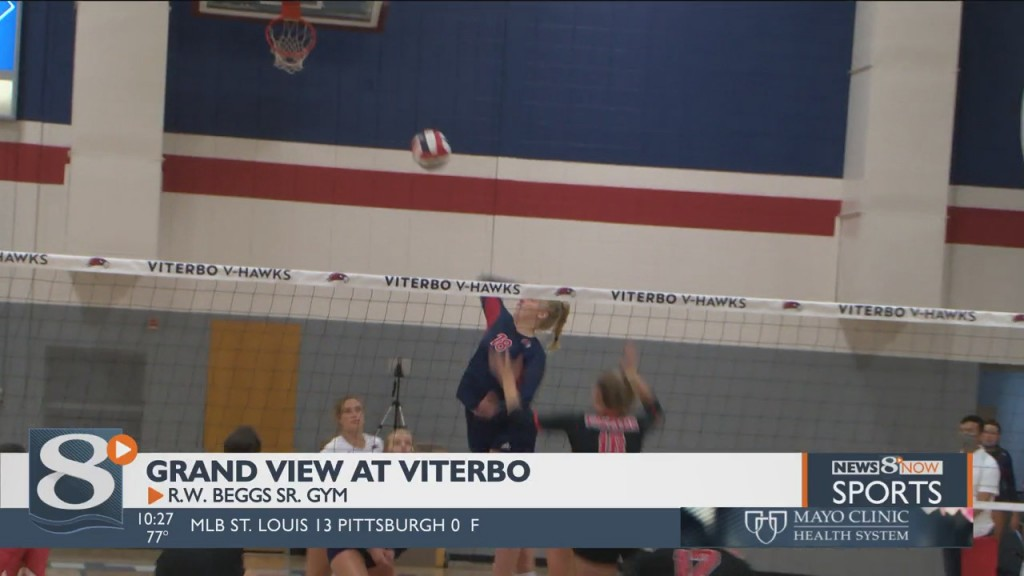 Viterbo Ends Tournament With Sweep Of Grand View