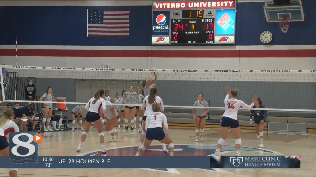 Viterbo Volleyball Upsets The Number 1 Team In The Country 3 0