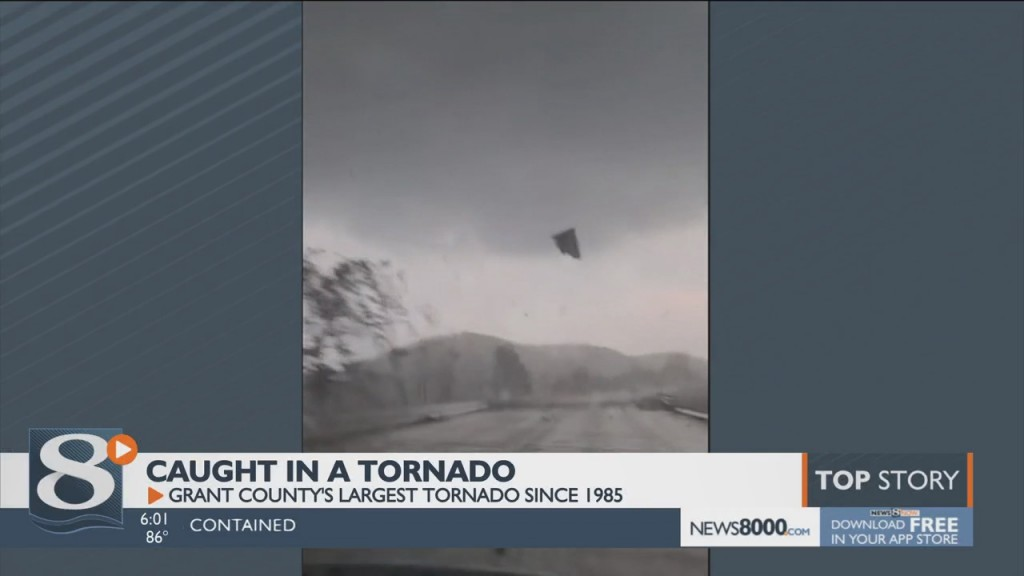 Officials Confirm Grant County's Largest Tornado In More Than 30 Years On Saturday