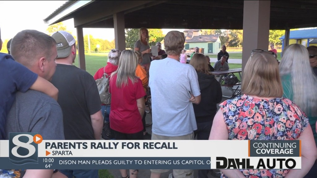 Sparta Parents Rally To Recall School District Board Members