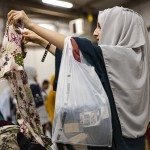 Afghan Evacuees Are Given Clothing Donations With Task Force Mccoy