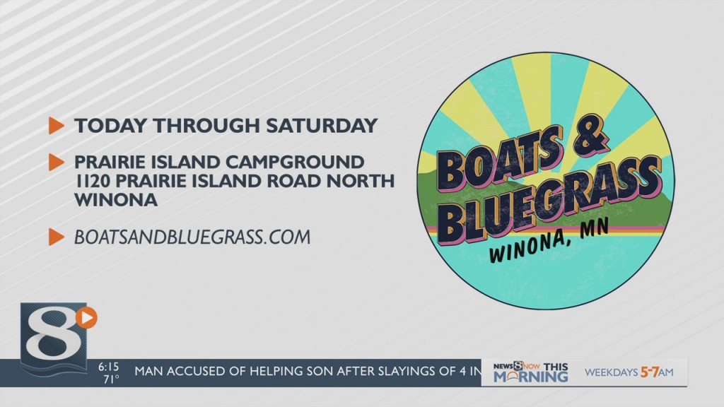 Boats And Bluegrass Festival Returns To Winona
