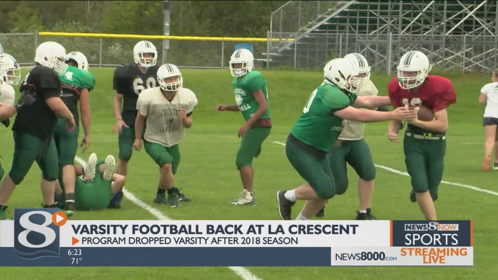 La Crescent Varsity Football Is Back After A Two Year Break