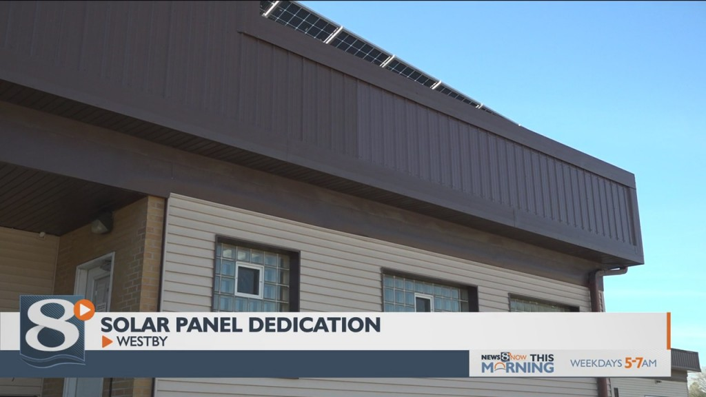 New Westby Couleecap Solar Panels Dedicated