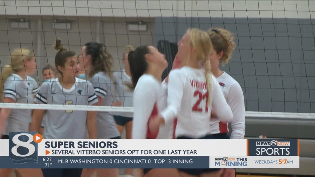 Viterbo Super Seniors Opt For One Last Year Of Volleyball