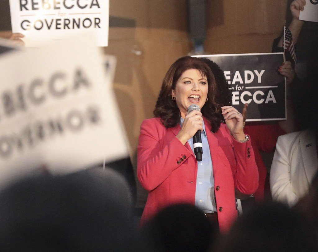 Gov. Candidate Rebecca Kleefisch Tests Positive For Covid