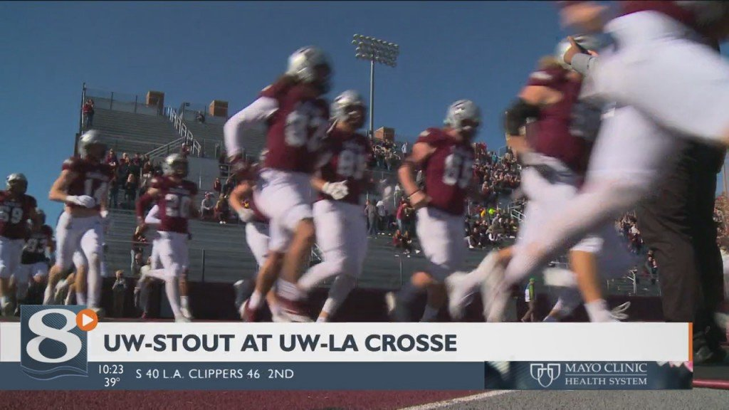 Let's Go Over To Uwl Where It's A Battle Between 5 And 1 Teams As The Eagles Host Uw Stout