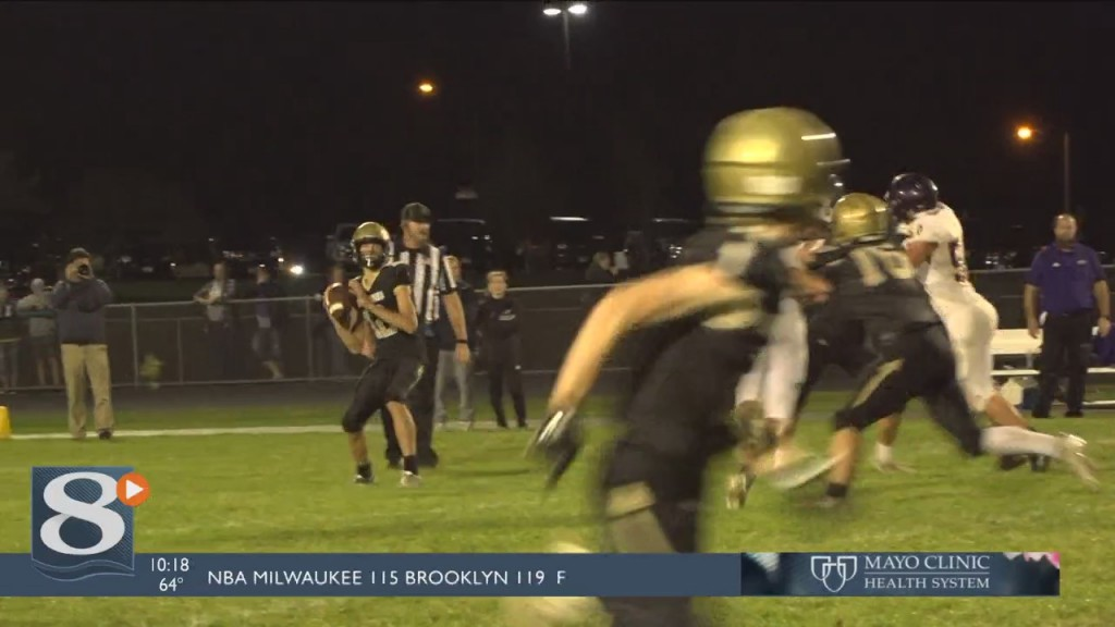 Caledonia Takes Home A Win For Their Homecoming Game Against Lourdes