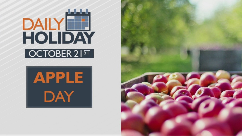 Daily Holiday Apple Day