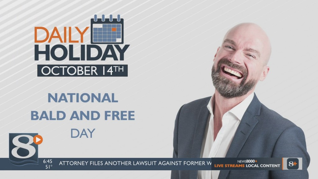 Daily Holiday National Bald And Free Day