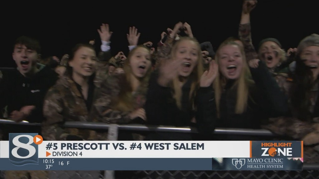 Four Seed West Salem In Division 4 Hosting Five Seed Prescott.