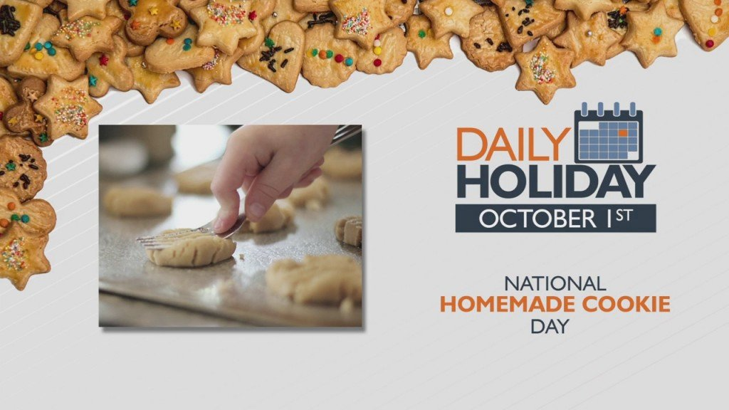 Daily Holiday National Homemade Cookie Day