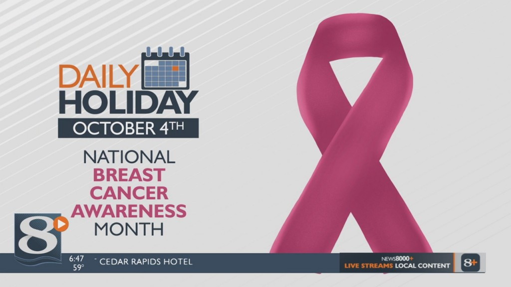 Daily Holiday National Breast Cancer Awareness Month