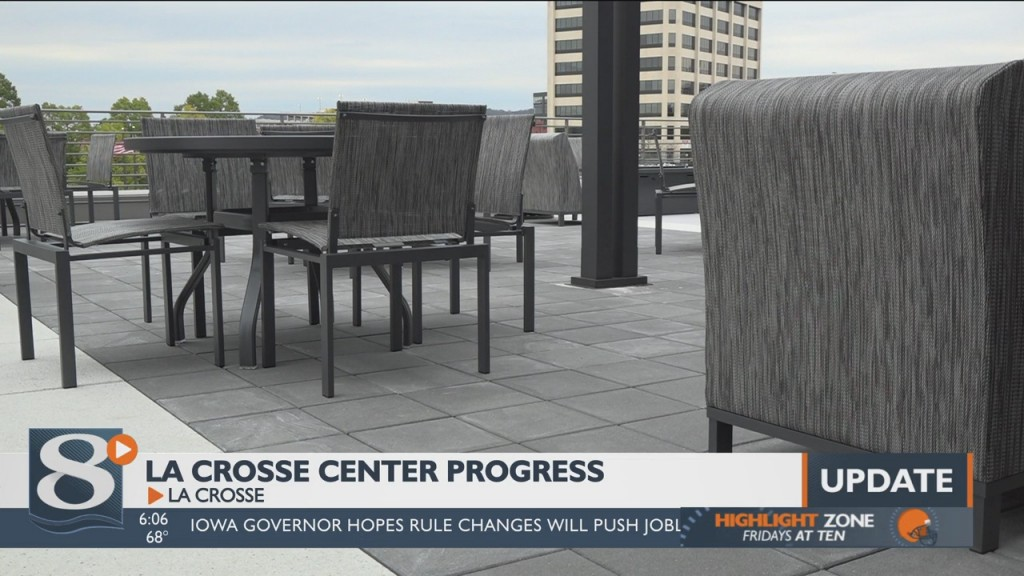 The End Is In Sight For The Construction And Renovation Of The La Crosse Center