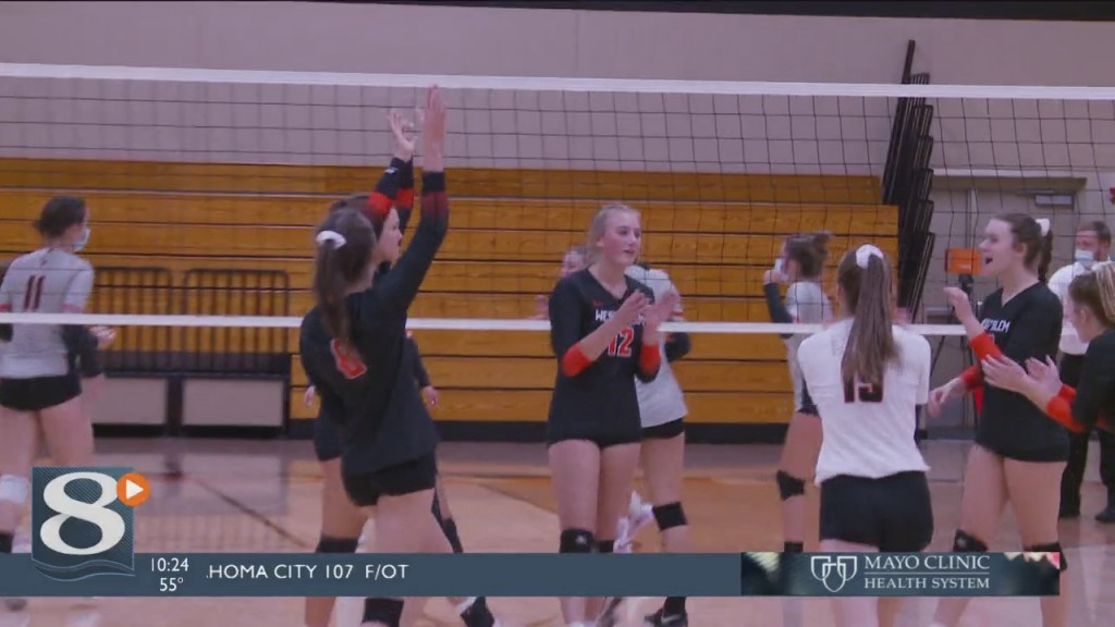 Viroqua And West Salem Battle It Out In Volleyball