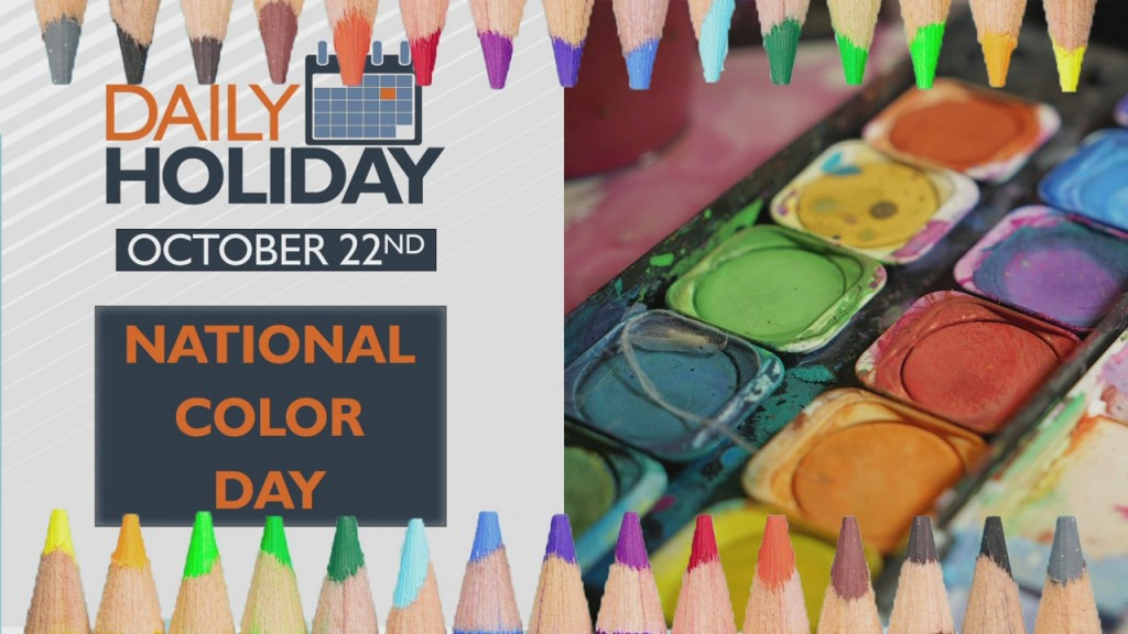 Daily Holiday National Color Day