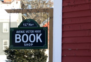 Photo By Allegra Boverman. At The Avenue Victor Hugo Book Shop In Lee.