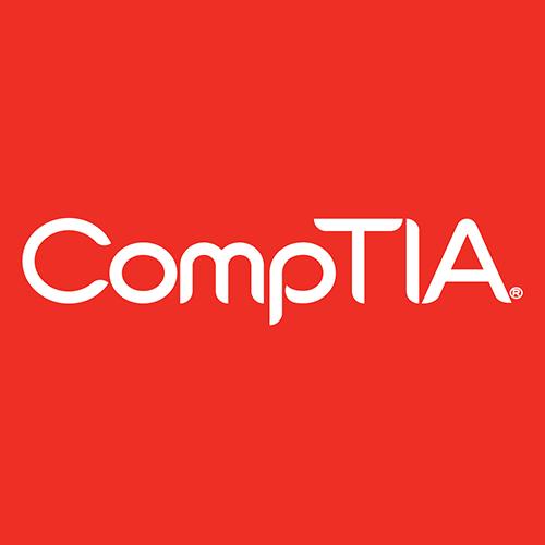 Comptia Logo White72