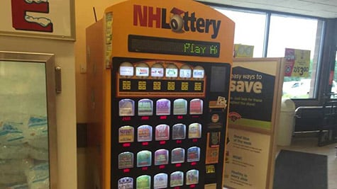 New Hampshire Lottery Machine72