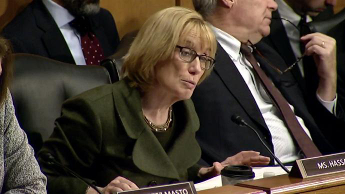 Maggie Hassan Committeeface