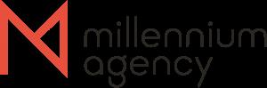 Millennium Logo Horizontal Pantone 300x99