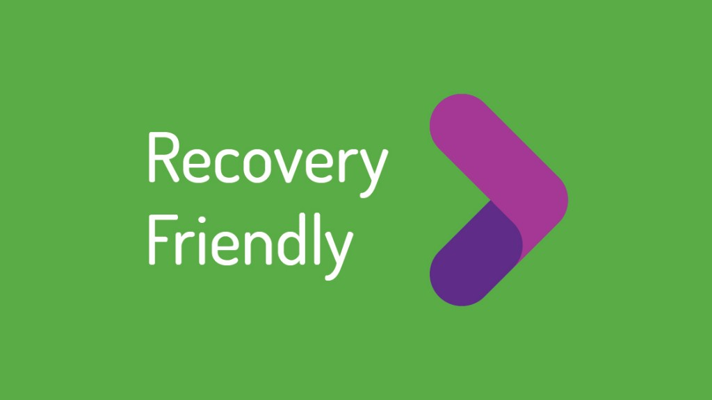 Recovery Friendly Logoface