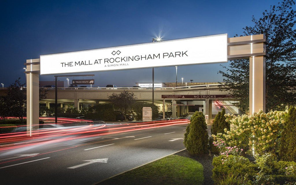 Rockingham Park Mall Sign