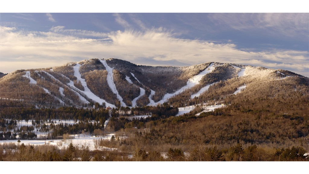 Ragged Mountain Ski Resort Danbury, Nh Usa
