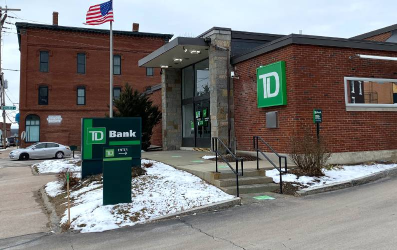 The Td Bank In Allenstown Will Be Closing In April.