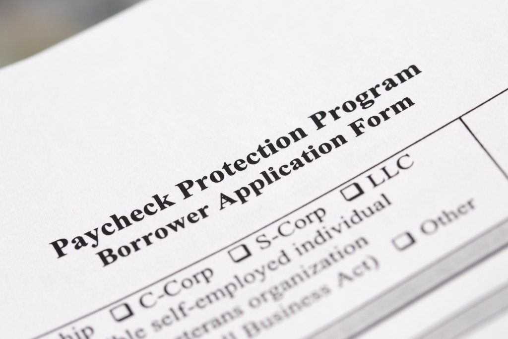 Paycheck Protection Program Borrower Application Form