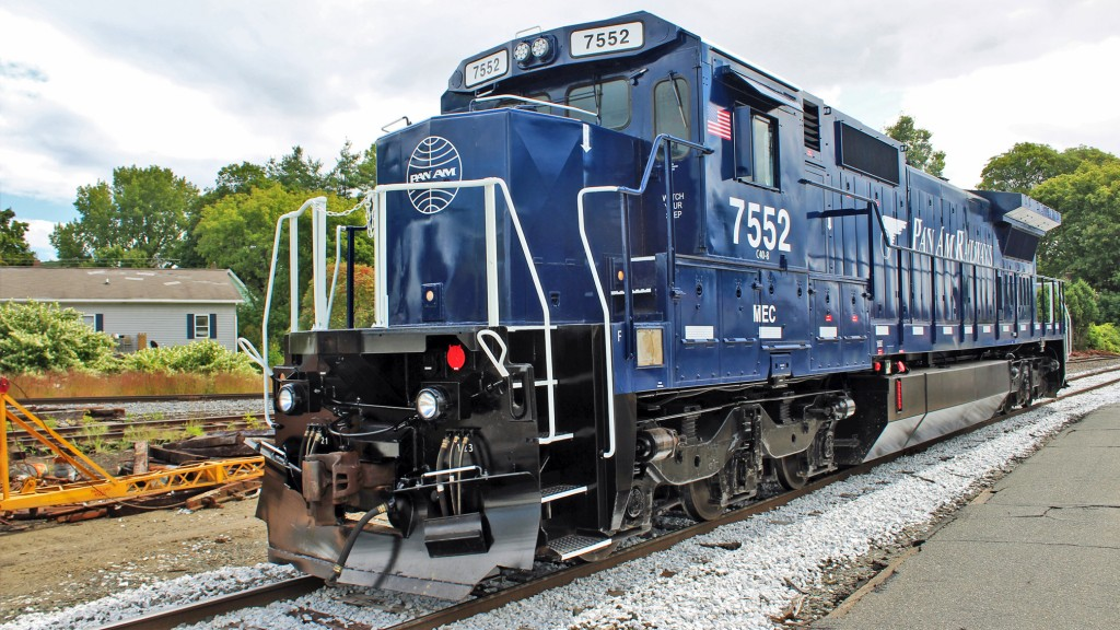 Pan Am Locomotive