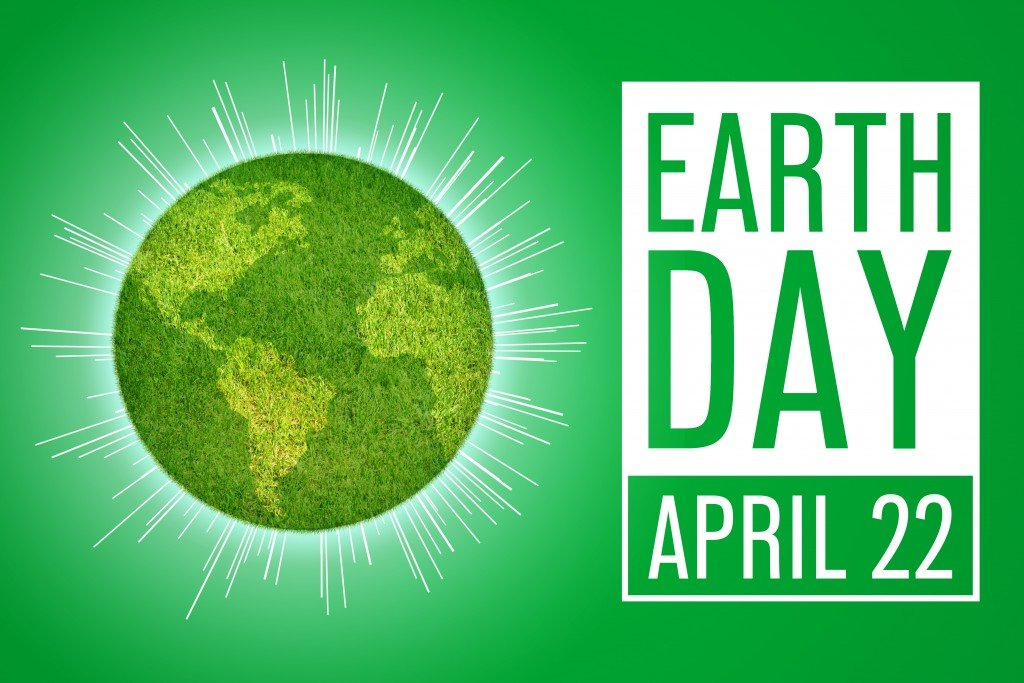 Earth Day Message Illustration