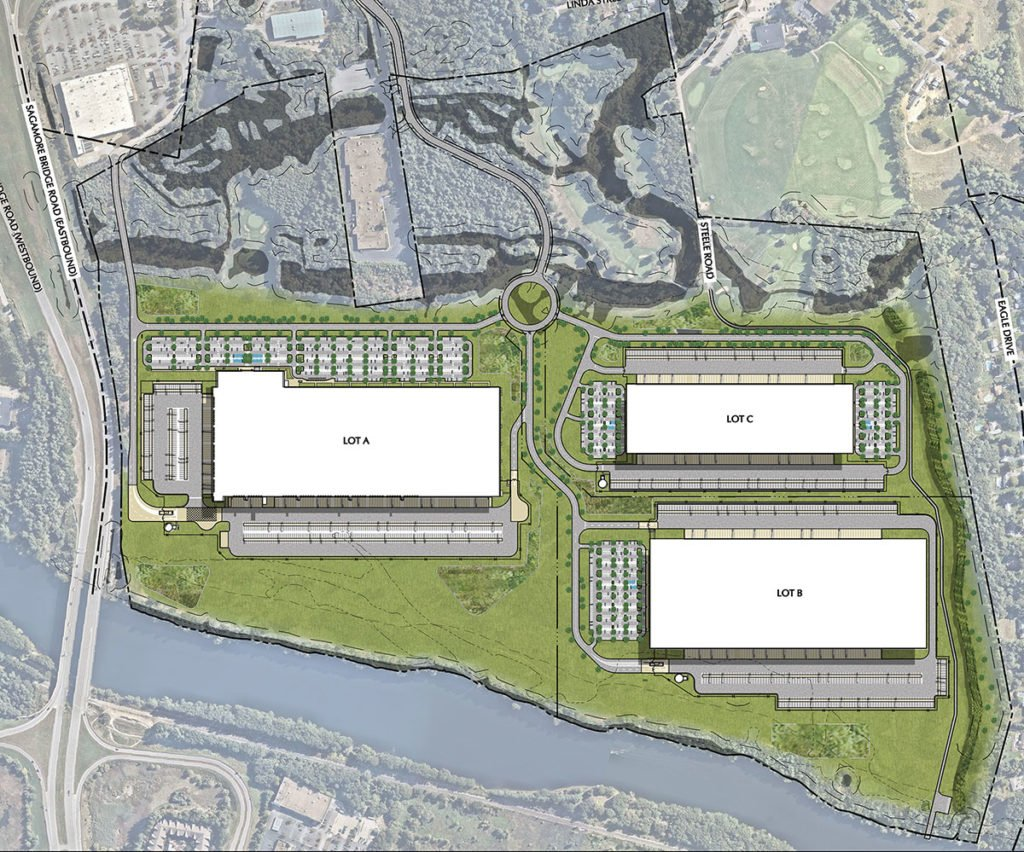 Hudson Logistics Center Site Plan 1024x852
