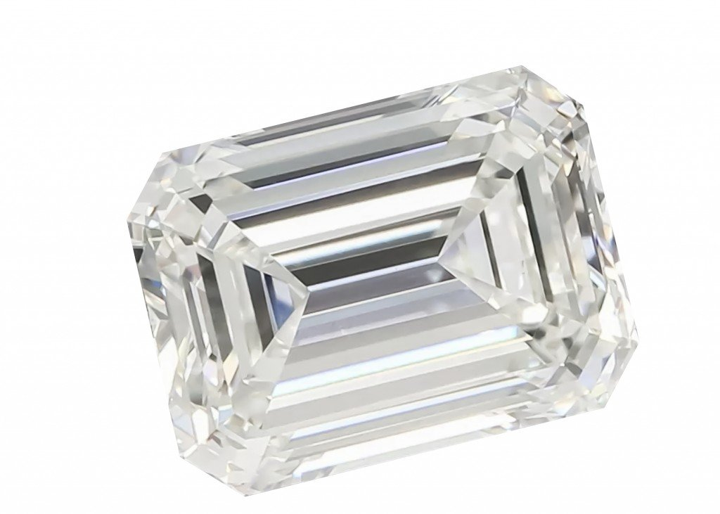 Emerald Cut Lab Grown Diamond