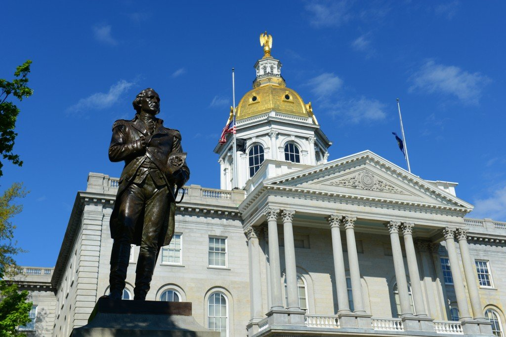 New Hampshire State House, Nh, Usa