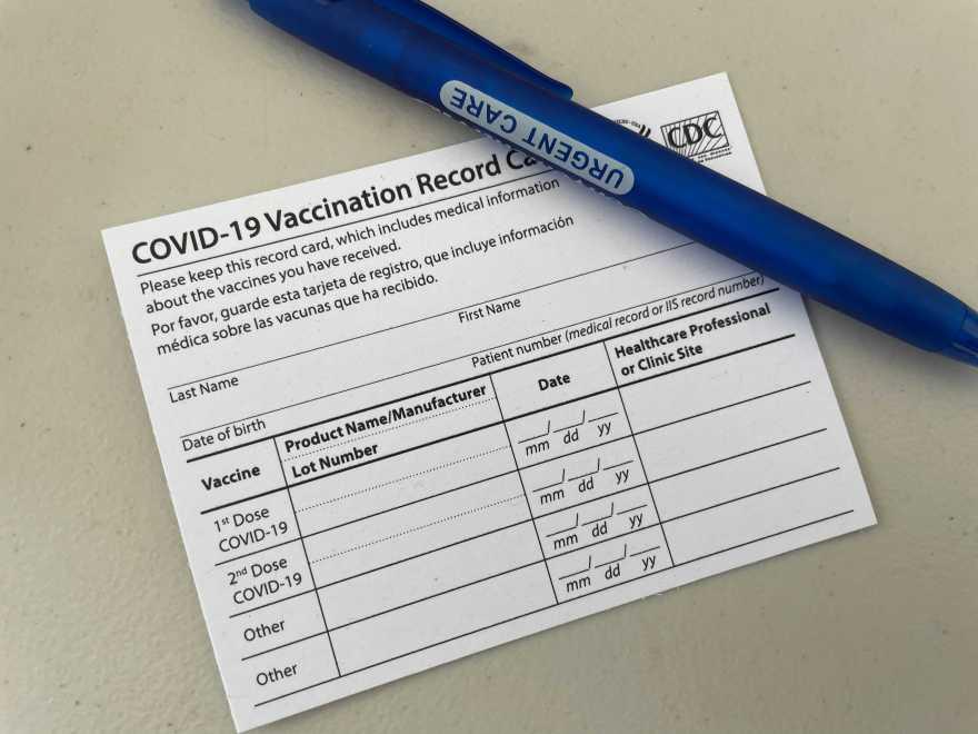 Vax Card