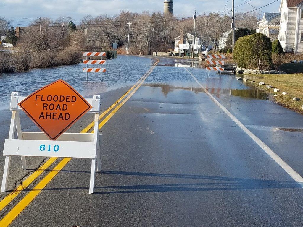 Flooded Area Ahead