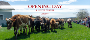 Opening Day and Heifer Parade @ Canterbury Shaker Village | Canterbury | New Hampshire | United States