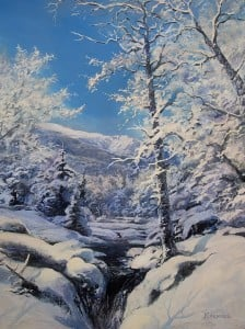 """Artist Erik Koeppel presents """"Q&A with Erik Koeppel: Painting in the White Mountains"""" @ NH Antique Co-op 