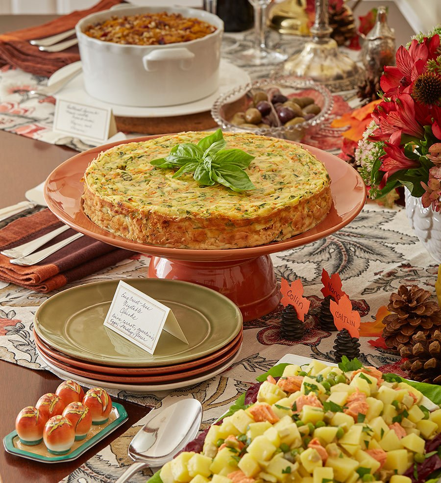 Recipes For The Perfect Holiday Potluck Party