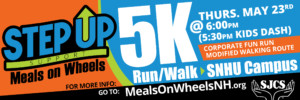 Step Up 5K Run/Walk/Kids Dash @ SNHU |  |  |