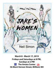 Jake's Women @ Amato Center for the Performin Arts | Milford | New Hampshire | United States
